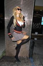PARIS HILTON at Demi Lovato's Halloween Party in Hollywood 10/26/2019