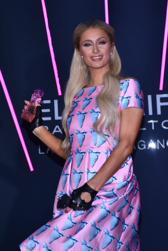 PARIS HILTON at Launch of Her Electrify Perfume at W Hotel in Mexico City 10/17/2019