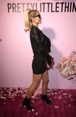 PARIS HILTON at Prettylittlething x Kelly Gale Launch at Sunset Towers in Los Angeles 10/22/2019