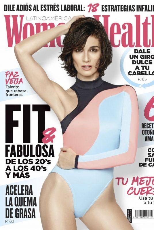 PAZ VEGA in Women's Health Magazine, Mexico October 2019