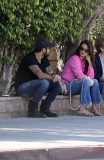PENELOPE CRUZ Out with Her Brother Eduardo and Mother Encarna Sanchez in Los Angeles 10/07/2019