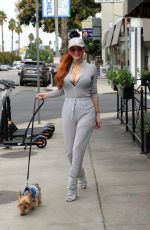 PHOEBE PRICE at Sweet Butter Kitchen in Studio City 10/16/2019