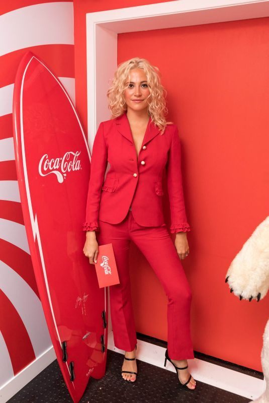 PIXIE LOTT at Coca-Cola's Ultimate Photo Booth in London 10/01/2019
