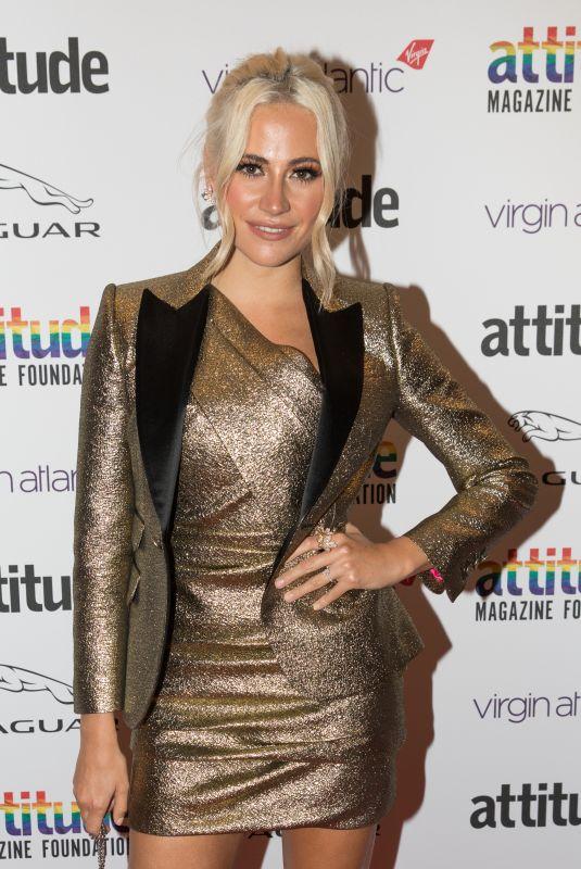 PIXIE LOTT at Virgin Atlantic Attitude Awards 2019 in London 10/09/2019