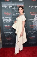 Pregnant ANNE HATHAWAY at Museum of Modern Love Premiere in New York 10/10/2019