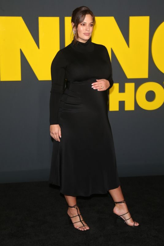 Pregnant ASHLEY GRAHAM at The Morning Show Premiere in New York 10/28/2019