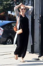 Probably Pregnant AMY ADAMS Out in Beverly Hills 10/13/2019