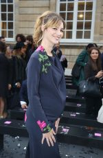 Prregnant LOUISE BOURGOIN at Le Defile L