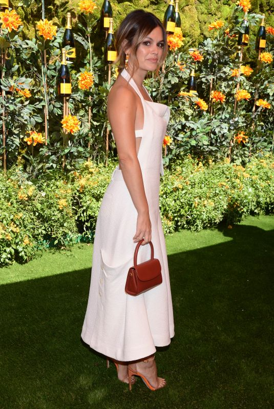 RACHEL BILSON at Veuve Clicquot Polo Classic at Will Rogers State Park in Los Angeles 10/05/2019