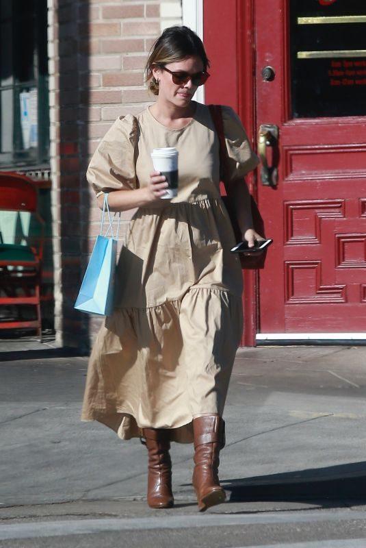 RACHEL BILSON Leaves Starbucks in Los Feliz 10/02/2019