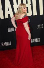 REBEL WILSON at Jojo Rabbit Premiere in Los Angeles 10/15/2019