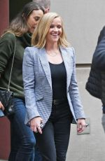 REESE WITHERSPOON Arrives at Morning Show in New York 10/27/2019