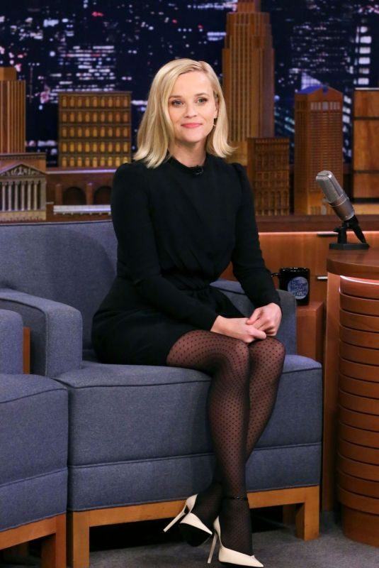 REESE WITHERSPOON at Tonight Show Starring Jimmy Fallon 10/29/2019