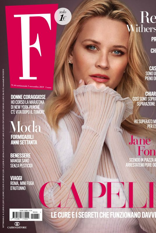 REESE WITHERSPOON in F Magazine, November 2019