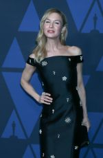 RENEE ZELLWEGER at AMPAS 11th Annual Governors Awards in Hollywood 10/27/2019
