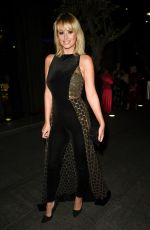 RHIAN SUGDEN Arrives at Manchester Fashion Festival 10/12/2019