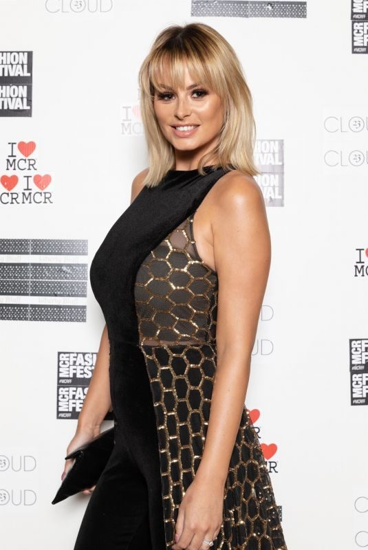 RHIAN SUGDEN at Manchester Fashion Festival 10/12/2019