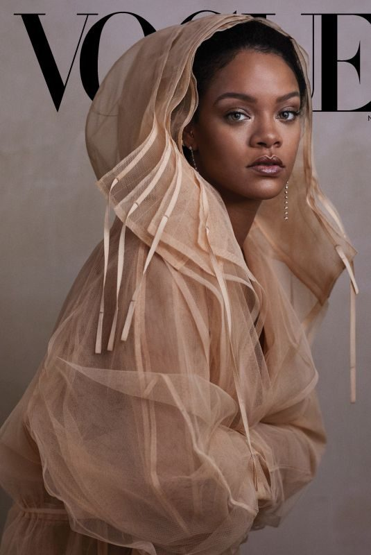 RIHANNA in Vogue Magazine, November 2019