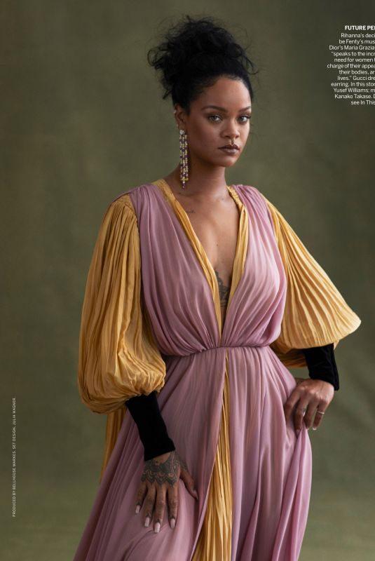 RIHANNA in Vogue Magazine, November 2019 Issue