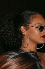 RIHANNA Leaves Nice Guy in West Hollywood 10/22/2019