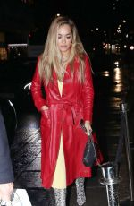 RITA ORA at Nobu in London 10/07/2019