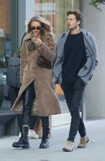 ROMEE STRIJD and Laurens Van Leeuwen Out in New York 10/23/2019