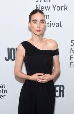 ROONEY MARA at Joker Premiere at 57th New York Film Festival 10/02/2019