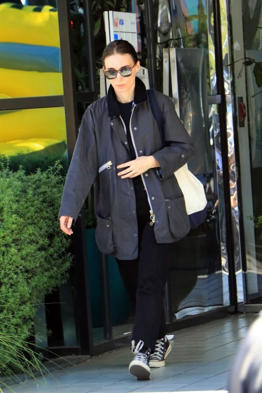 ROONEY MARA Out Shopping in Los Angeles 10/06/2019