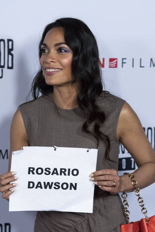 ROSARIO DAWSON at Jay and Silent Bob Reboot Screening in Los Angeles 10/14/2019