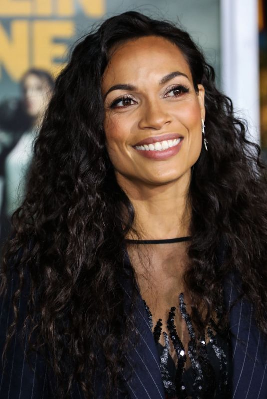 ROSARIO DAWSON at Zombieland: Double Tap Premiere in Westwood 10/11/2019