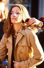 ROSE BYRNE on the Set of Mrs. America in New York 10/26/2019