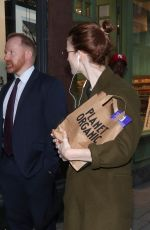 ROSE LESLIE Out and About in London 10/04/2019