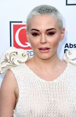 ROSE MCGOWAN at W Awards in London 10/16/2019