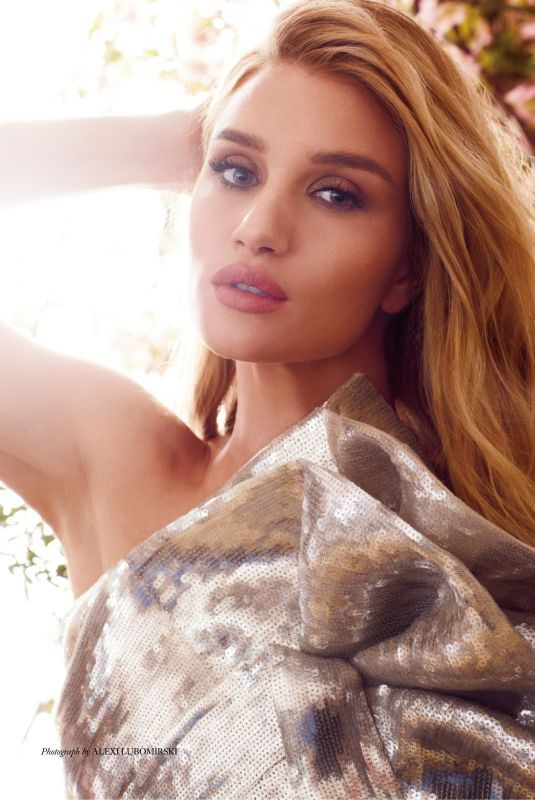 ROSIE HUNTINGTON-WHITELEY in Harper's Bazaar Magazine, December 2019