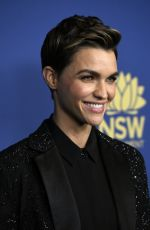 RUBY ROSE at 8th Annual Australians in Film Awards Gala & Benefit Dinner in Century City 10/23/2019