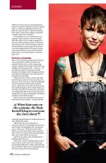 RUBY ROSE in SFX Magazine, November 2019