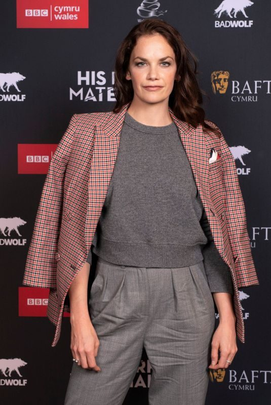 RUTH WILSON at His Dark Materials Premiere in Cardif 10/17/2019