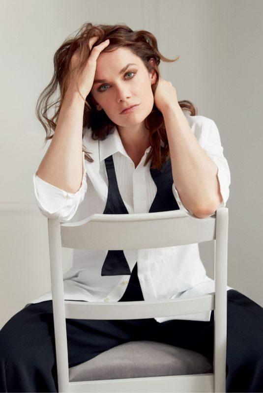 RUTH WILSON in Harper's Bazaar Magazine, UK December 2019