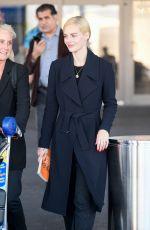 SAMARA WEAVING at Los Angeles International Airport 10/02/2019