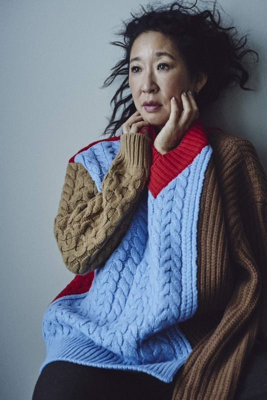 SANDRA OH in Edit by Net-a-porter, October 2019