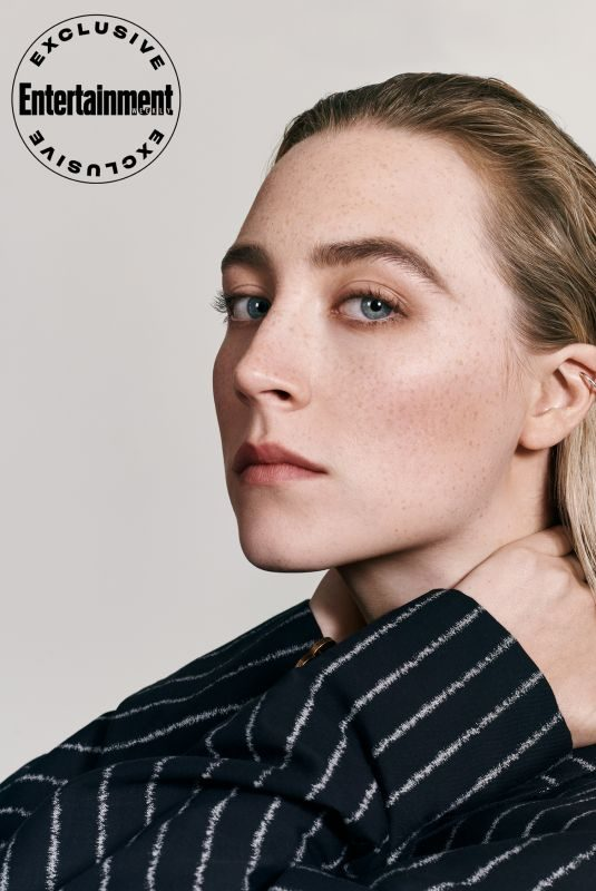 SAOIRSE RONAN in Entertainment Weekly, October 2019