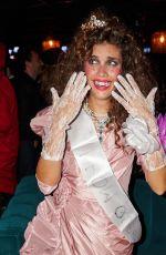 SARA SAMPAIO as Prom Queen 1985 for Halloween - Instagram Photos 10/27/2019