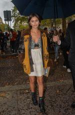 SARAH ELLEN at Miu Miu Show at Paris Fashion Week 10/01/2019