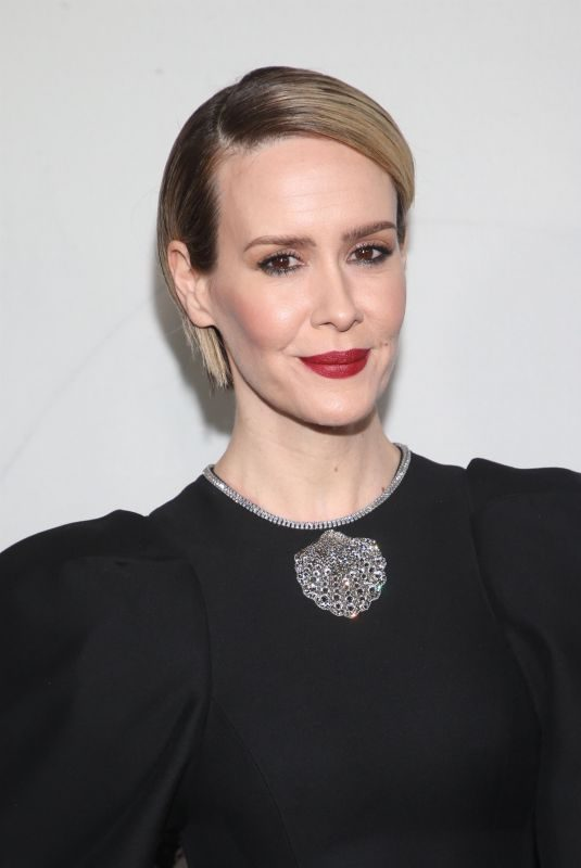 SARAH PAULSON at American Horror Story 100th Episode Celebration in Hollywood 10/26/2019
