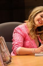 SASHA PIETERSE Signs Copies of Her New Book Sasha in Good Taste at Barnes & Noble in Los Angeles 10/11/2019