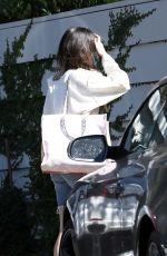 SELENA GOMEZ Arrives at Niall Horan