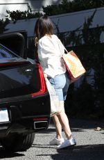 SELENA GOMEZ Arrives at Niall Horan