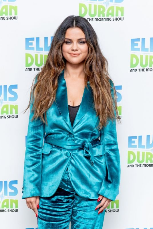 SELENA GOMEZ at Elvis Duran Z100 Morning Show in New York 10/28/2019