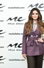 SELENA GOMEZ at Music Choice in New York 10/29/2019