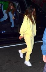 SELENA GOMEZ Night Out in Brooklyn 10/29/2019
